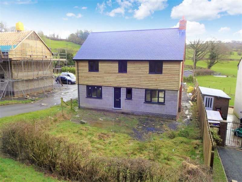 3 Bedrooms Detached House for sale in Isfryn House Adjacent Ty'r Newydd, Bwlch Y Ffridd, Newtown, Powys, SY16