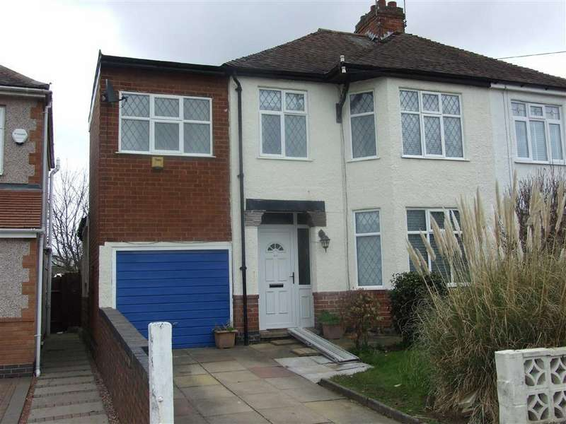 4 Bedrooms Semi Detached House for sale in Prince Of Wales Road, Coventry