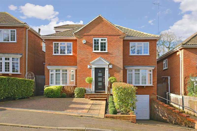 6 Bedrooms Detached House for sale in Belmor, Elstree,
