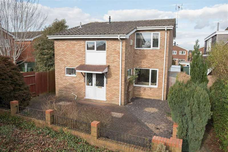 4 Bedrooms Detached House for sale in Prestwick Close, Bletchley, Milton Keynes