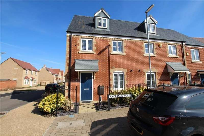 3 Bedrooms End Of Terrace House for sale in Anderson Road, Biggleswade, SG18