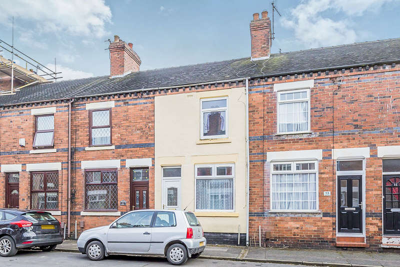 2 Bedrooms Terraced House for sale in Adams Street, Newcastle, ST5