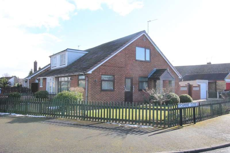 2 Bedrooms Semi Detached Bungalow for sale in Greenacre Park, Gilberdyke, Brough, HU15