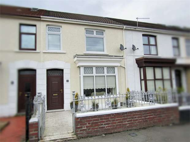 3 Bedrooms Terraced House for sale in Walters Road, Llanelli, Carmarthenshire