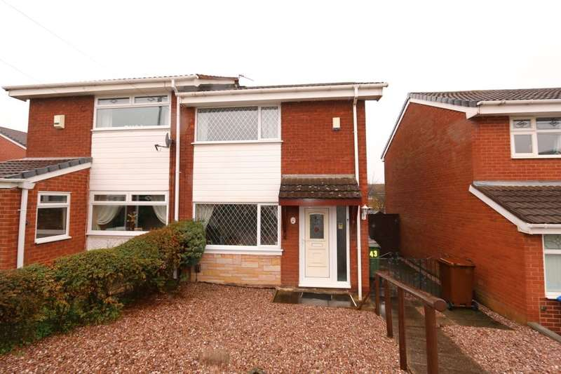 2 Bedrooms Semi Detached House for sale in Coppice Walk, Denton, Manchester, M34