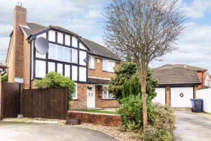 4 Bedrooms Detached House for sale in Stanner Close, Callands, Warrington, Cheshire