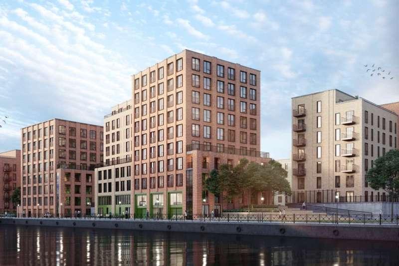 2 Bedrooms Apartment Flat for sale in Bridgewater Wharf - Salford