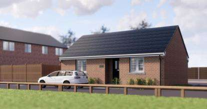 2 Bedrooms Bungalow for sale in Mayfield Gardens, Mayfield Close, Chaddesden, Derby