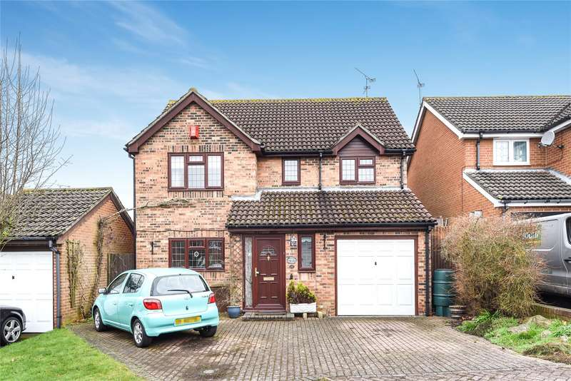 4 Bedrooms Detached House for sale in Swepstone Close, Lower Earley, Reading, Berkshire, RG6