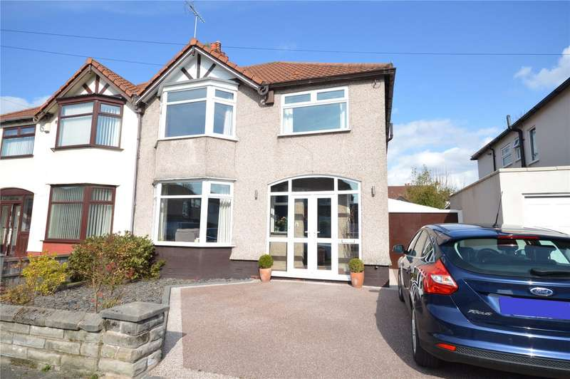 4 Bedrooms Semi Detached House for sale in Edale Road, Mossley Hill, Liverpool, L18