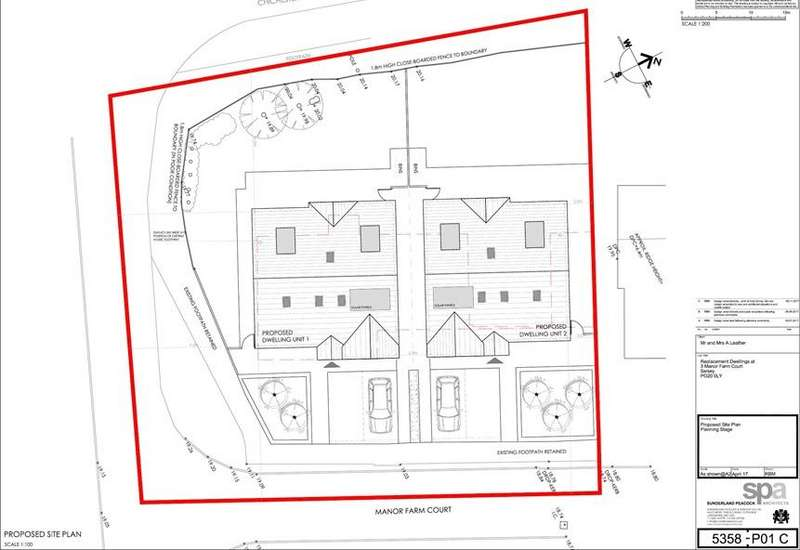 4 Bedrooms Plot Commercial for sale in Manor Farm Court, Selsey, Chichester PO20