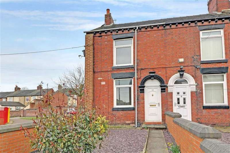 3 Bedrooms End Of Terrace House for sale in William Terrace, Fegg Hayes, Stoke-on-Trent