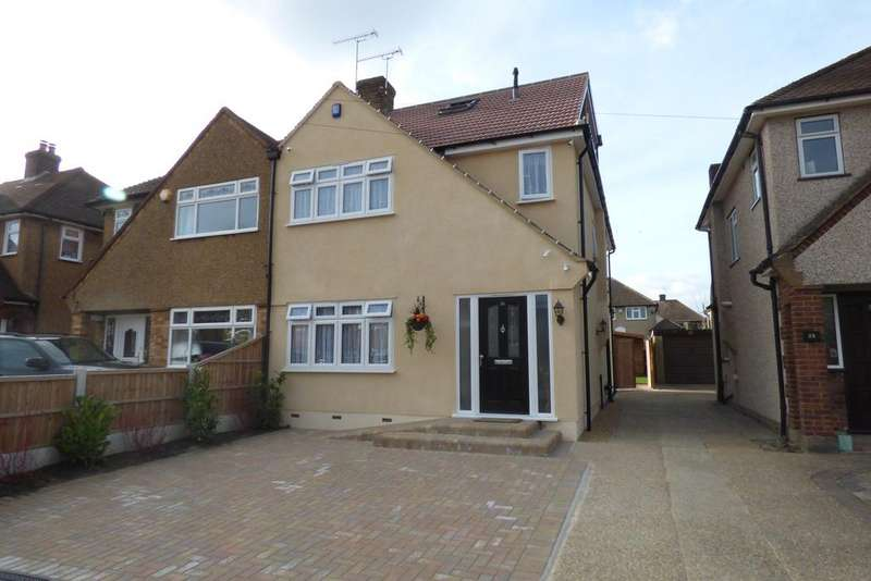 5 Bedrooms Semi Detached House for sale in Trent Avenue, Upminster RM14