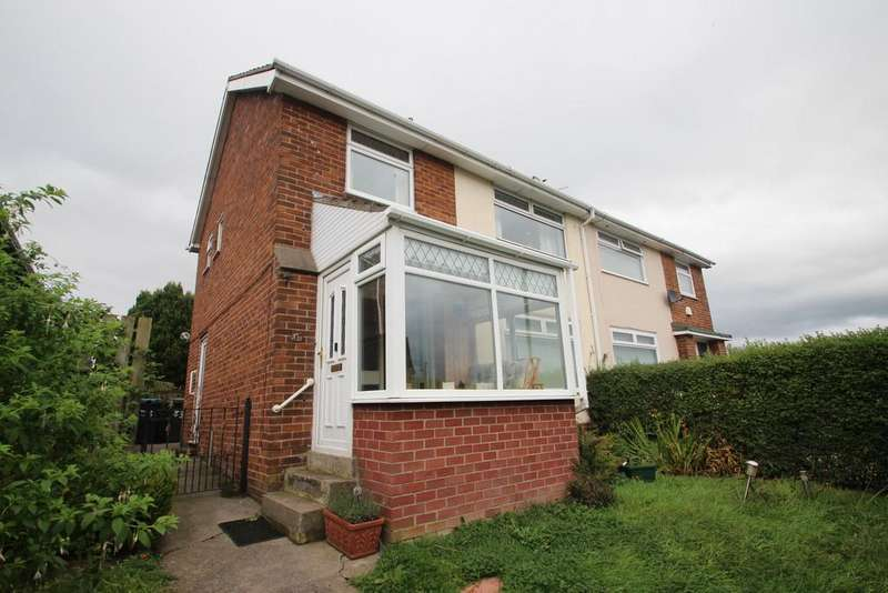 3 Bedrooms Semi Detached House for sale in Iveston Road, Delves Lane