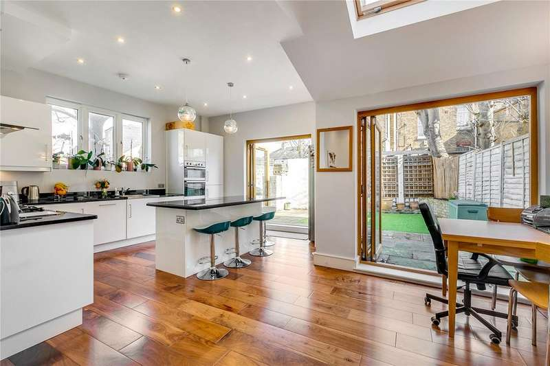 3 Bedrooms End Of Terrace House for sale in St. Ann's Hill, Wandsworth