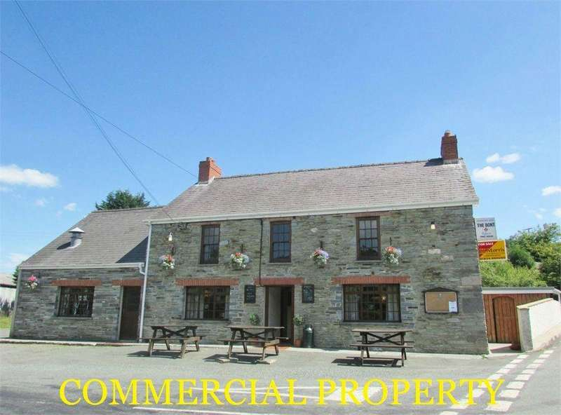 3 Bedrooms Detached House for sale in The Bont, Llanglydwen, Whitland, Carmarthenshire