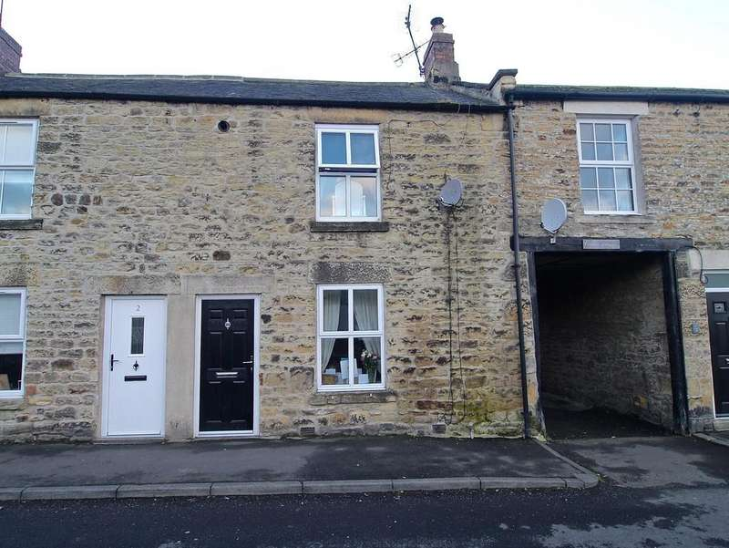 2 Bedrooms Terraced House for sale in Foundry Cottage, Hexham