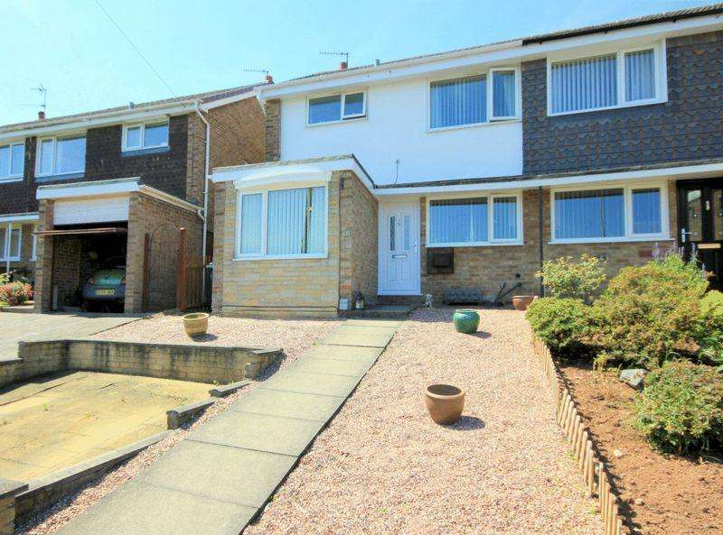 3 Bedrooms Semi Detached House for sale in Hill Crescent, Stone