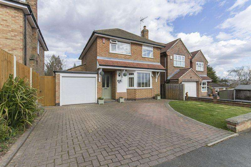 3 Bedrooms Detached House for sale in Scarsdale Avenue, Allestree
