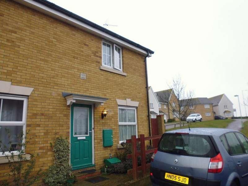 2 Bedrooms Semi Detached House for sale in Goosander Road, Stowmarket