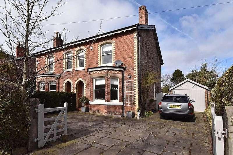 4 Bedrooms Detached House for sale in Moor Lane, Wilmslow