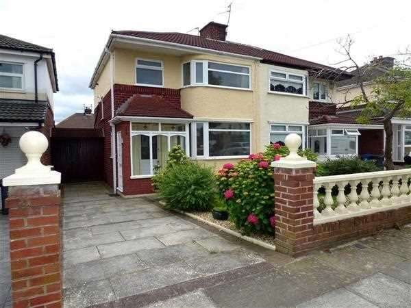 3 Bedrooms Semi Detached House for sale in Kingsway, Huyton, Liverpool
