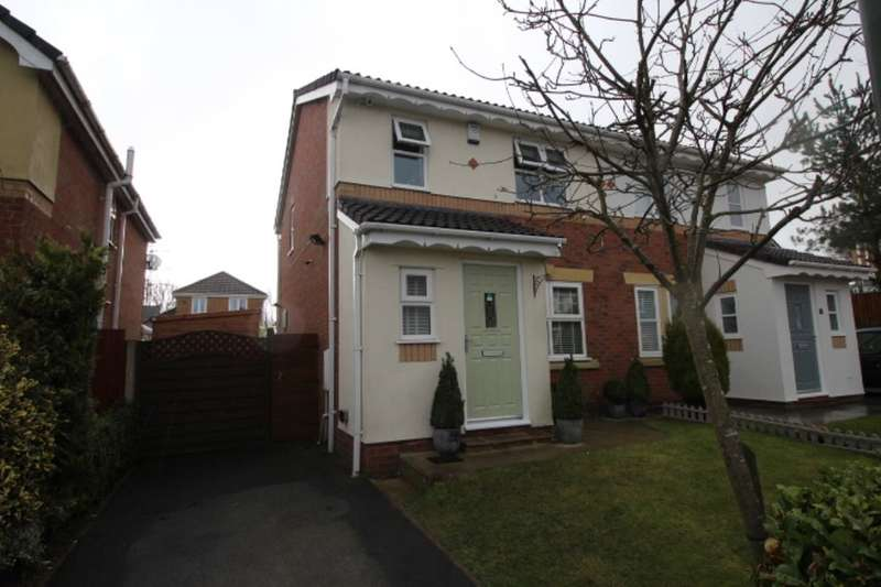 3 Bedrooms Terraced House for sale in Gladden Hey Drive, Winstanley, Wigan, WN3