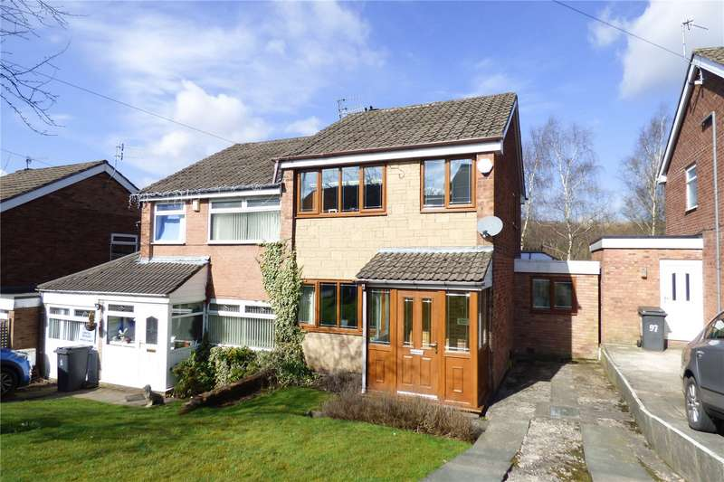 3 Bedrooms Semi Detached House for sale in Staley Hall Road, Stalybridge, Greater Manchester, SK15
