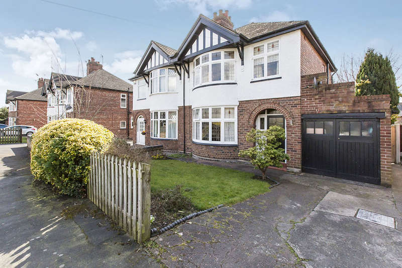 3 Bedrooms Semi Detached House for sale in Dane Bank Road, Northwich, CW9