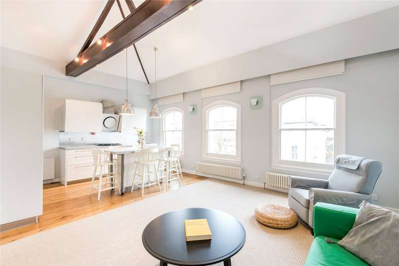 2 Bedrooms Maisonette Flat for sale in Buckland Crescent, Belsize Park, London, NW3