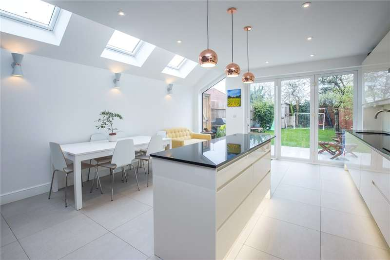 4 Bedrooms End Of Terrace House for sale in Long Lane, East Finchley, London, N2