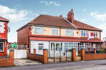 4 Bedrooms Semi Detached House for sale in Mauldeth Road, Manchester, Greater Manchester, Uk