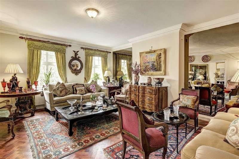 4 Bedrooms Flat for sale in Hanover House, London, NW8
