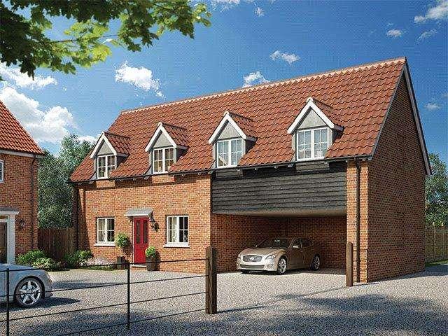 3 Bedrooms Flat for sale in Alconbury Weald, Alconbury, Huntingdon, Cambridgeshire, PE28