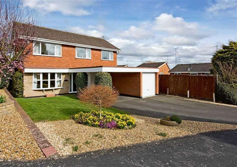 4 Bedrooms Detached House for sale in 6, The Croft, Wombourne, Wolverhampton, South Staffordshire, WV5