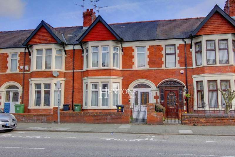 3 Bedrooms Terraced House for sale in Lansdowne Road, Canton, Cardiff