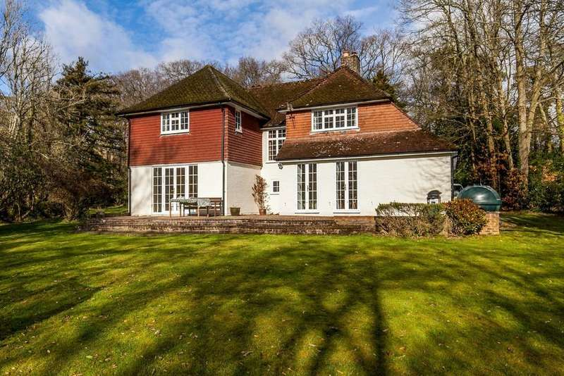 4 Bedrooms Detached House for sale in Winchester Road, Ampfield, Romsey, SO51