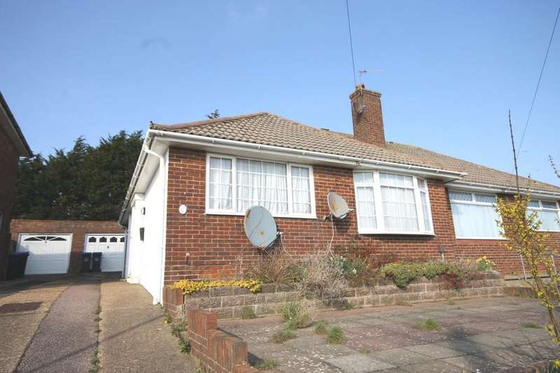 3 Bedrooms Semi Detached Bungalow for sale in Holmbush Way, Southwick