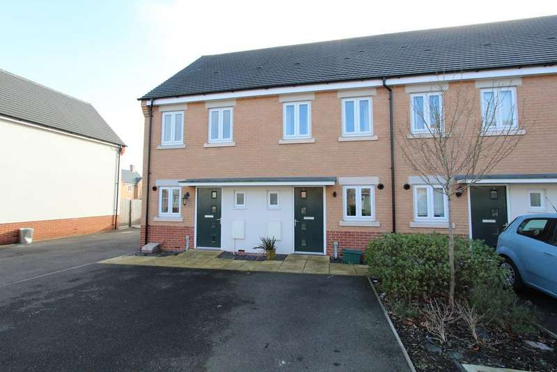 2 Bedrooms Terraced House for sale in Hampton Court Close, COLCHESTER, CO2