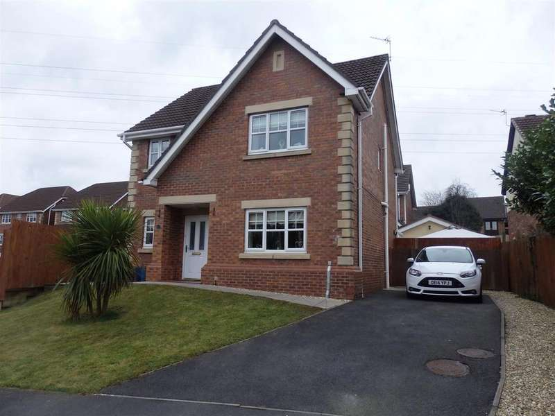 4 Bedrooms Detached House for sale in Maes Conwy, Llanelli