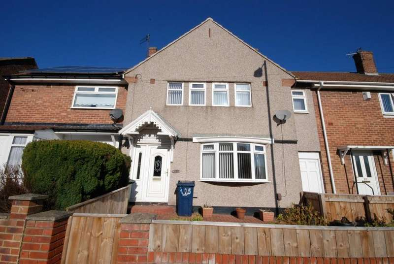 3 Bedrooms Terraced House for sale in Renfrew Road, Redhouse