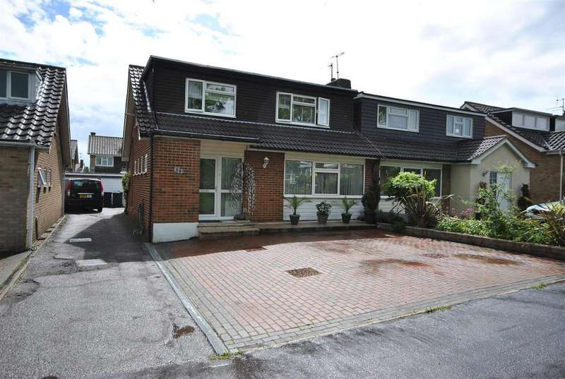 3 Bedrooms Semi Detached Bungalow for sale in Holbeck Lane, Cheshunt, Waltham Cross