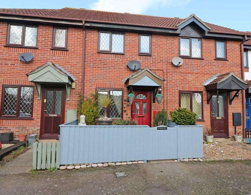 3 Bedrooms Terraced House for sale in Margaret Reeve Close, Wymondham