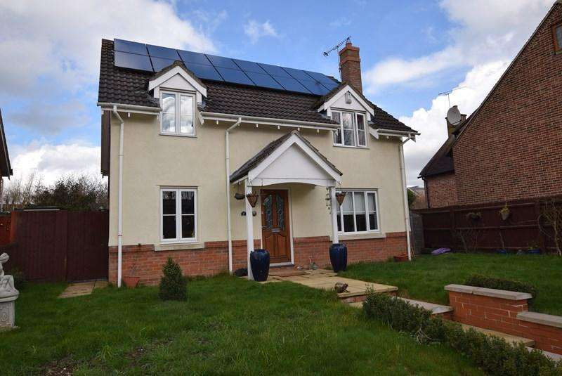 4 Bedrooms Detached House for sale in Hanchett End, Haverhill