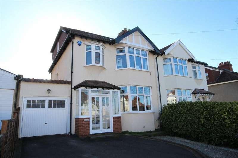 4 Bedrooms Semi Detached House for sale in West Broadway, Henleaze, Bristol, BS9