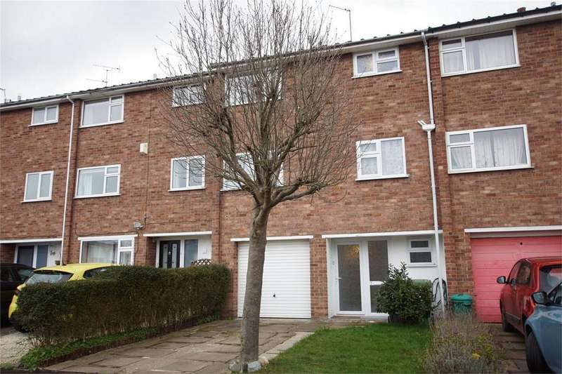 4 Bedrooms End Of Terrace House for sale in Gaveston Close, Warwick
