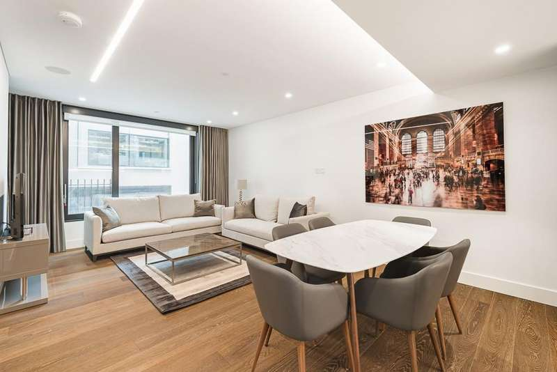 2 Bedrooms Flat for rent in Rathbone Square, Fitzrovia, London, W1T