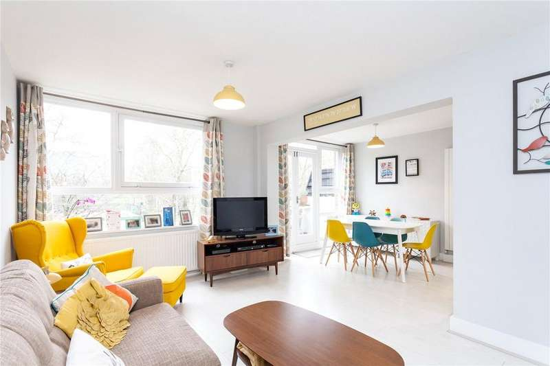 3 Bedrooms Flat for sale in Fieldview Court, London, N5