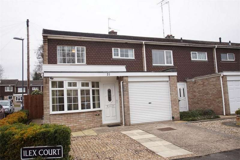 3 Bedrooms End Of Terrace House for sale in Ilex Court, off Emscote Road, Warwick