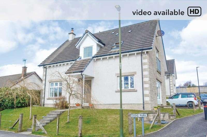 5 Bedrooms Detached House for sale in Doig Park, Thornhill, Stirling, FK8 3PG